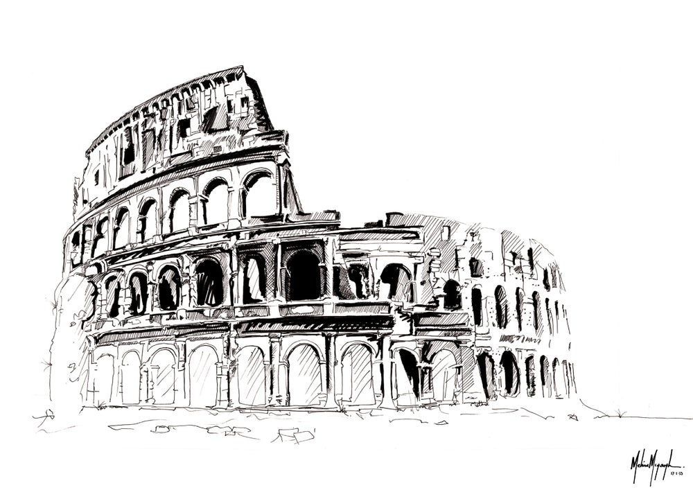 Image of Colosseum, Rome - Limited Edition