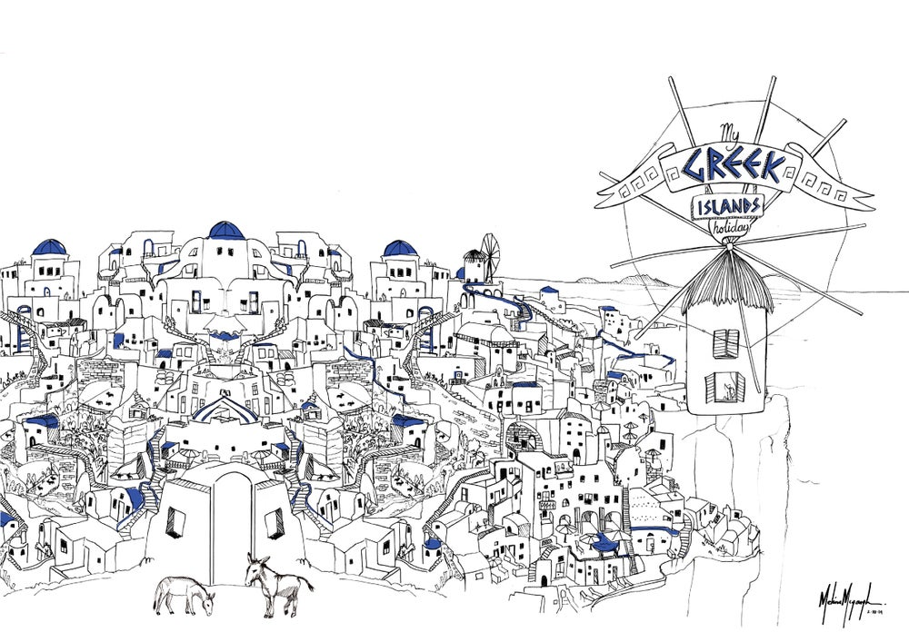 Image of Greek Islands - Limited Edition