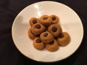 Image of Grain-Free Peanut Butter and Banana Drop Cookies