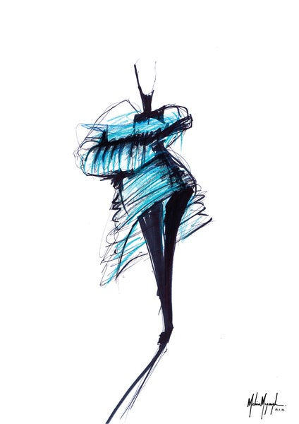 Image of Fashion Illustration #1
