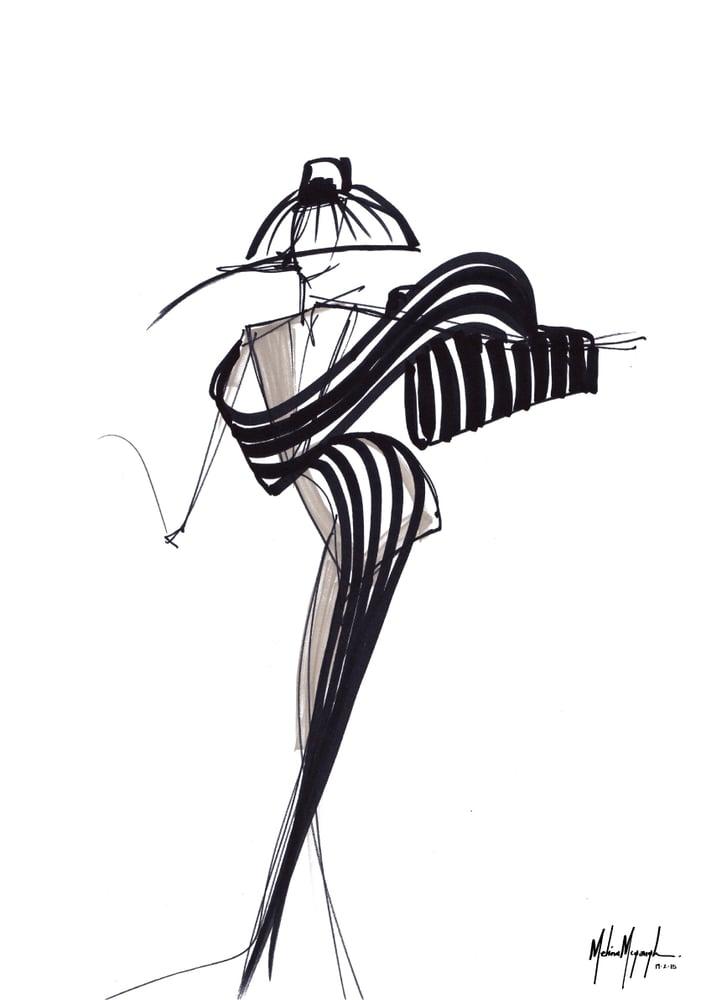Image of Fashion Illustration #2