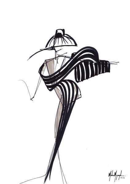 Image of Fashion Illustration #2