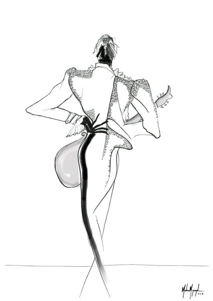 Image of Fashion Illustration #3