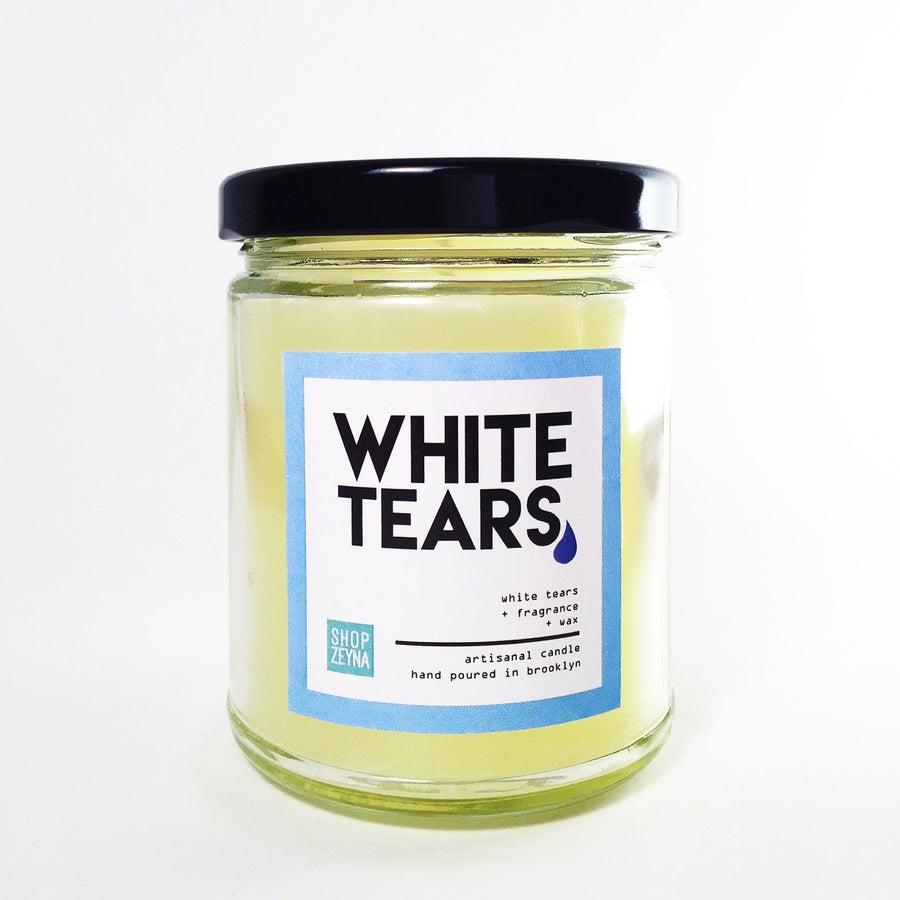 Image of 8 oz White Tears Candle