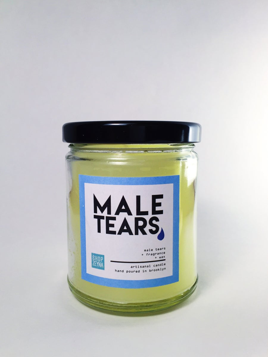 Image of 8 oz Male Tears Candle