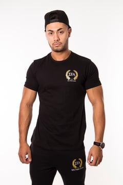 Elite Tee Black - Elite Fitness Apparel