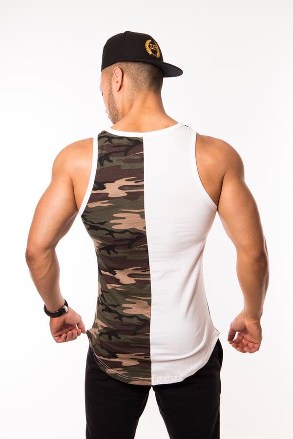 Elite Tank - Green/Camo - Elite Fitness Apparel