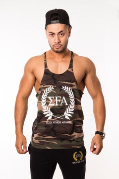 Elite Stringer - Camo - Elite Fitness Apparel