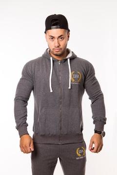 Elite Hoody - Charcoal - Elite Fitness Apparel