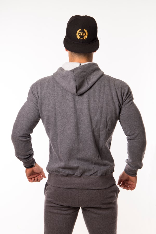Elite Hoody - Charcoal - Elite Fitness Apparel