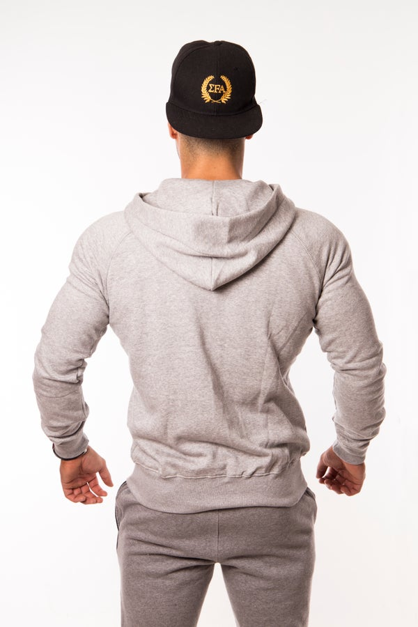 Elite Hoody - Grey/Black - Elite Fitness Apparel