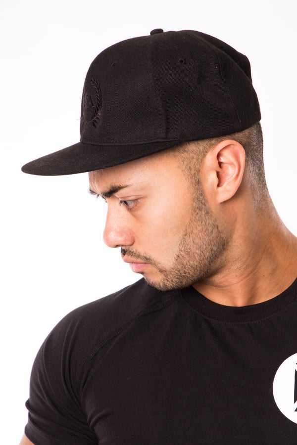Elite Snapback - Midnight Black - Elite Fitness Apparel