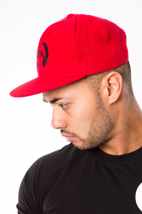 Elite Snapback - Candy Red - Elite Fitness Apparel