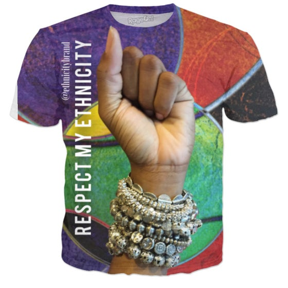 Image of Respect My EthniCITY Ultra Premium Tee #Fist