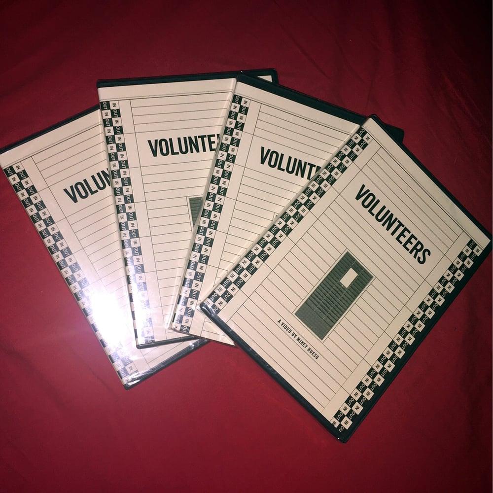 Image of 「Volunteers」 DVD