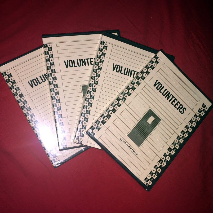 Image of 「Volunteers」 DVD