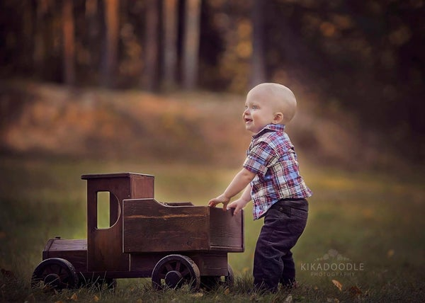 """Image of Woodsy Wonders Country (and a little bit rustic!) """"Farmer's Truck"""""""