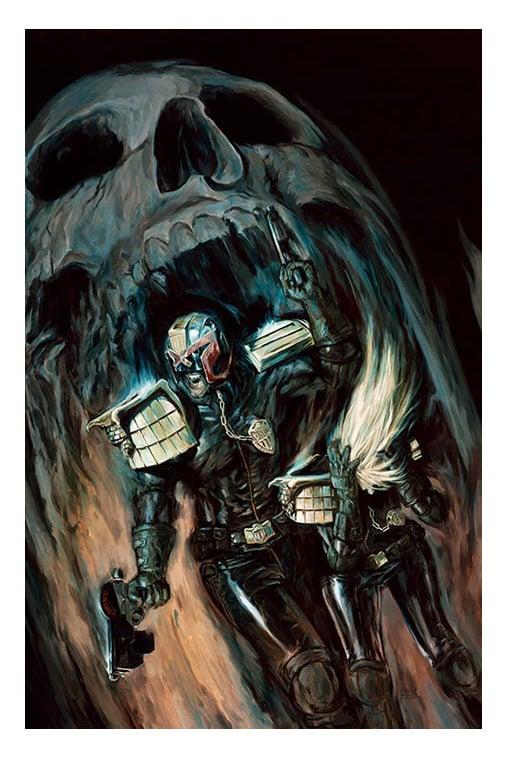 Image of Judge Dredd Print