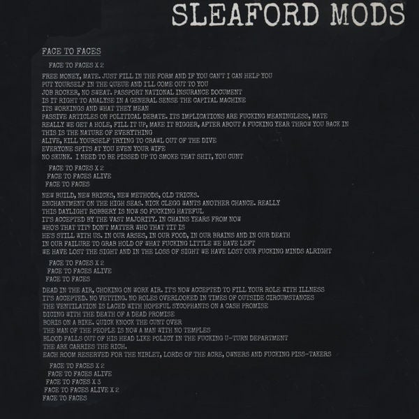 Image of THE POP GROUP / SLEAFORD MODS - Split 7""