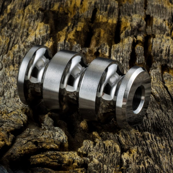 Image of Rodan Bead Polished and Machined #1