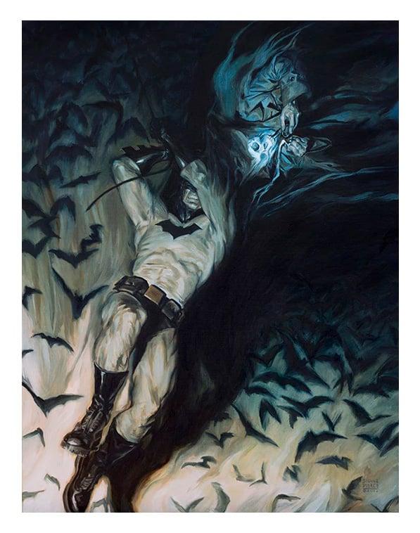 Image of Batman Nomad print