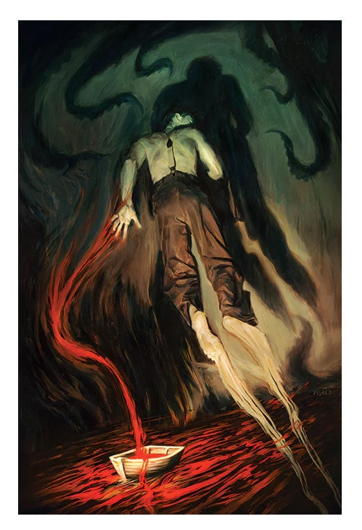 Image of Dagon Lovecraft Print