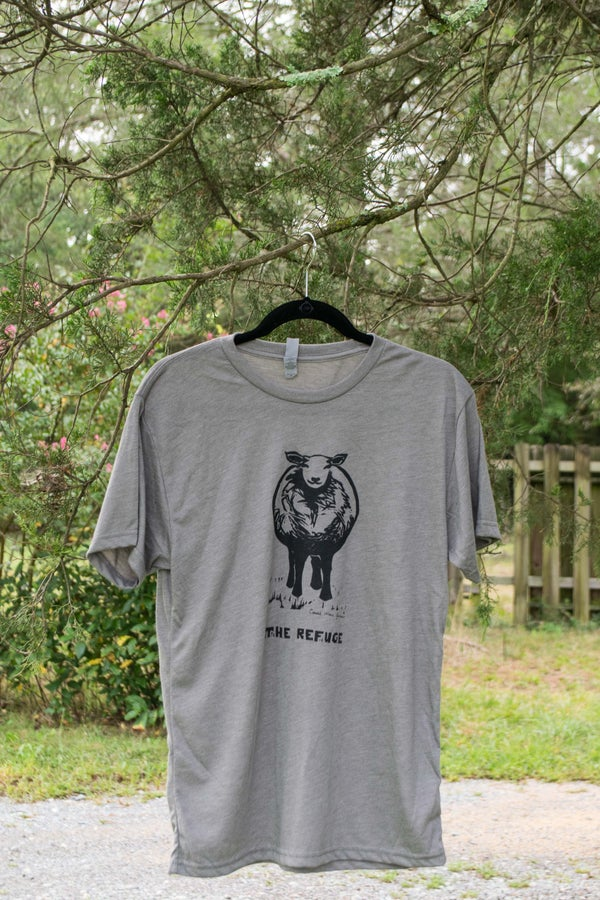 Image of Men | short sleeve, venetian grey, sheep logo