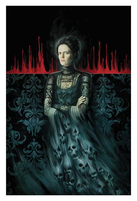 Image of Penny Dreadful Demon Dress Print