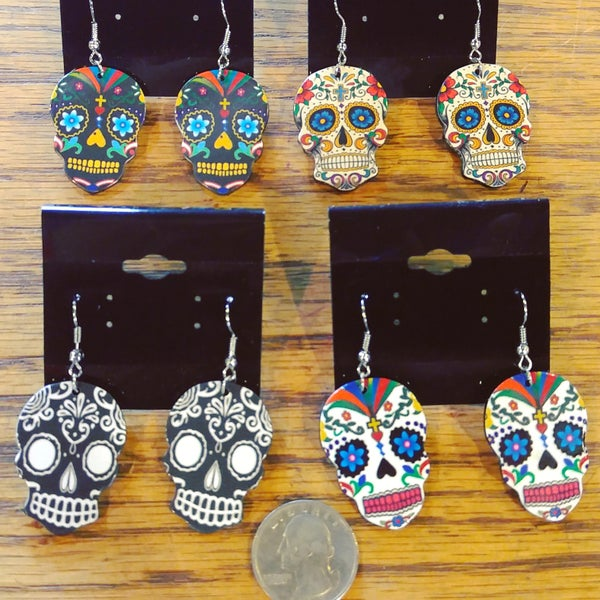 Image of Calavera Earrings