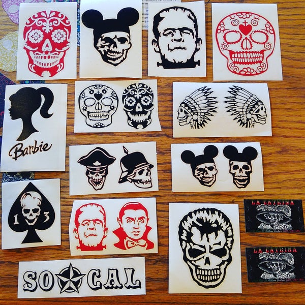 Image of Vinyl Stickers