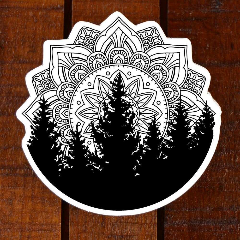 Image of Tree Mandala Sticker