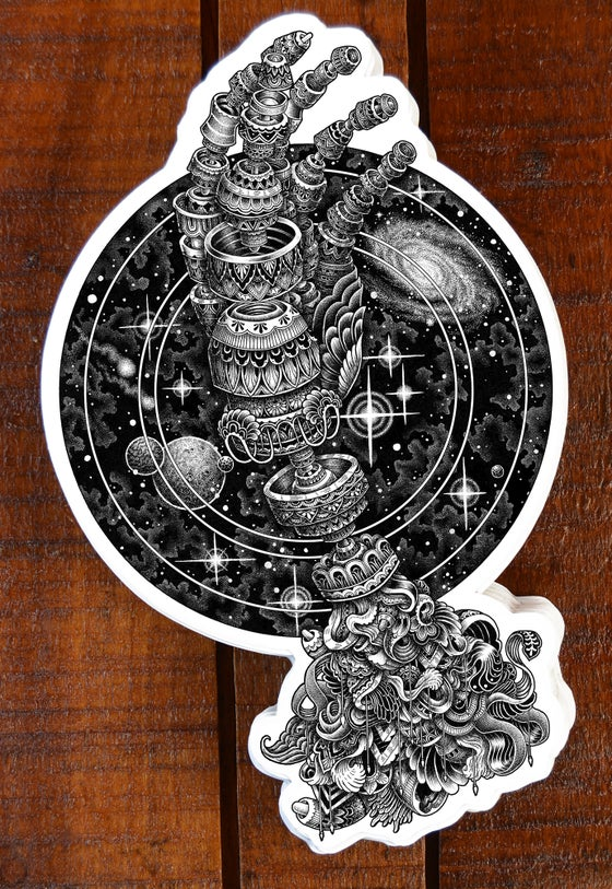 Image of Cosmic Hand Sticker