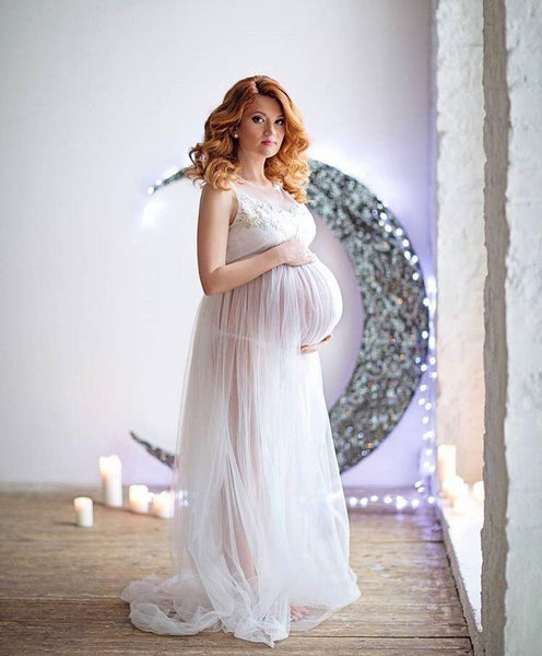 Image of Alina maternity gown