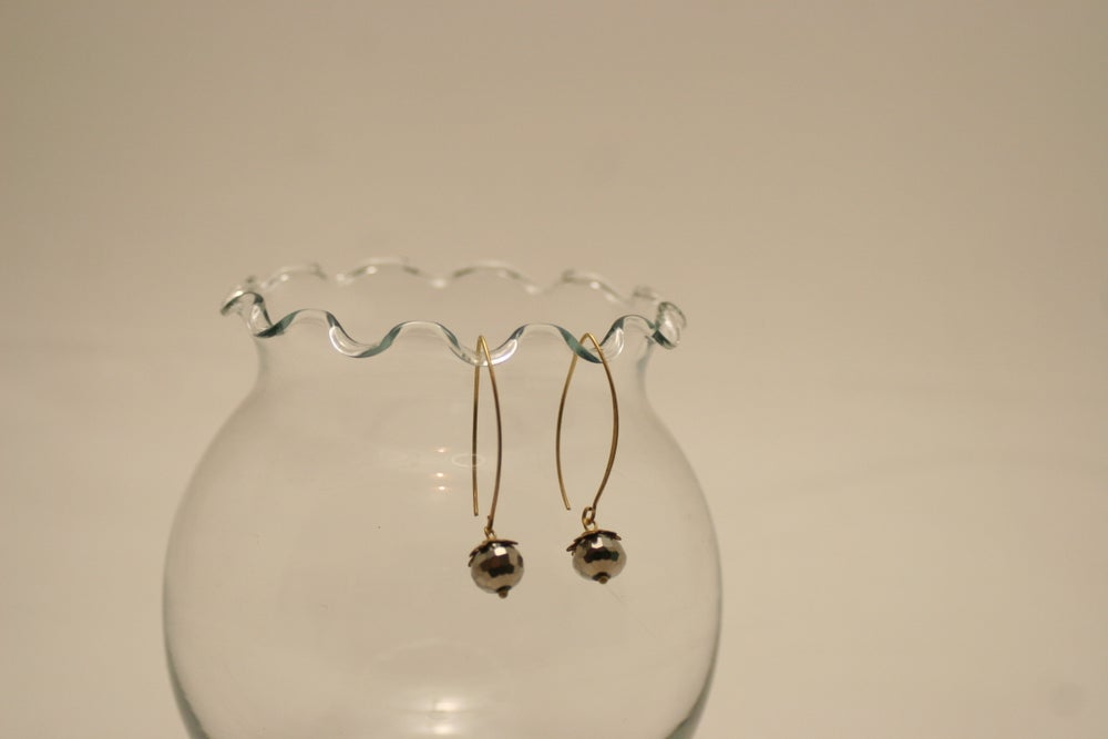 Image of Crystal Ball Earrings