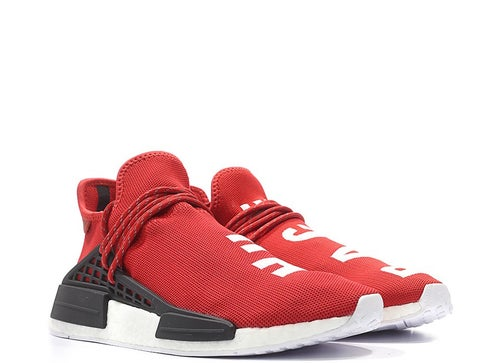 Image of ADIDAS X PHARRELL WILLIAMS HU NMD RED