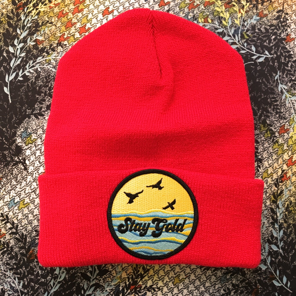 Image of Stay Gold Beanie