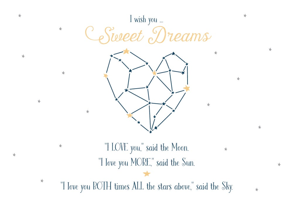 Image of Sweet Dreams Constellation Print