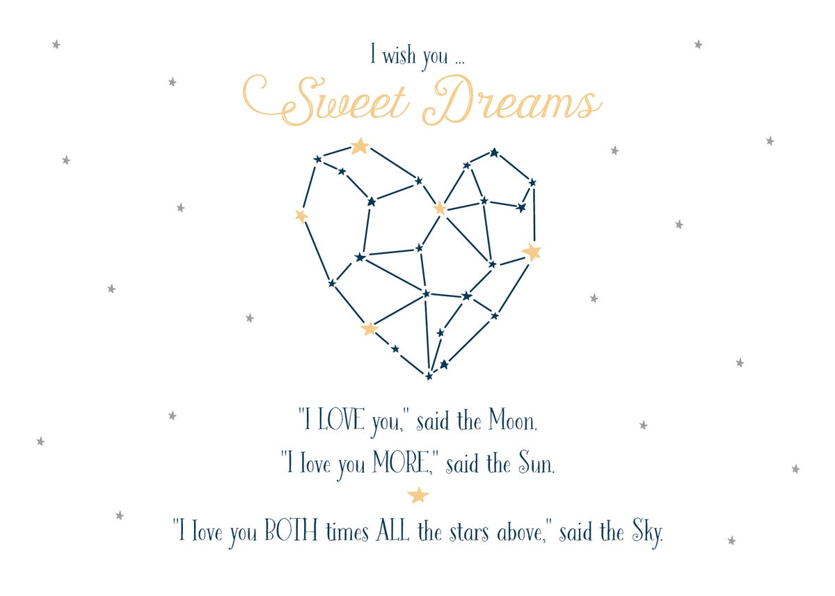 Sweet Dreams Constellation Print