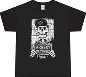 "Image of Arrest Records Shirt ""Skeleton"" $20 Plus Postage"