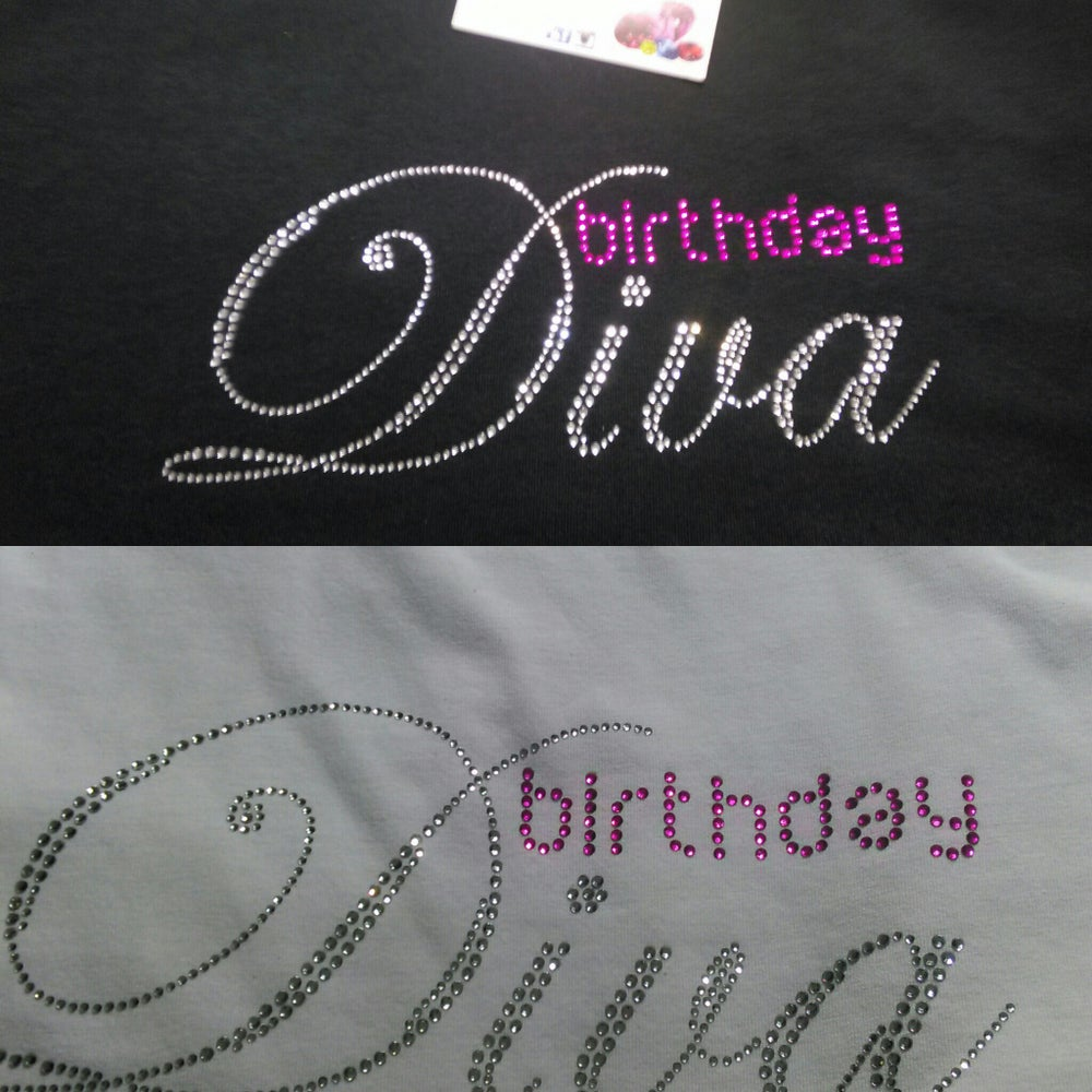 "Image of ""Sparkling"" Birthday (5 different designs)"