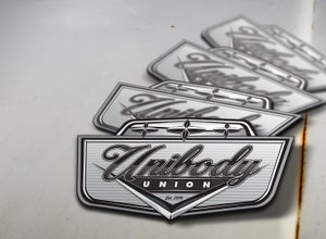 Image of Unibody Union Sticker / Decal