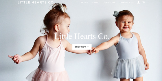 Image of Visit our store littleheartsco.com