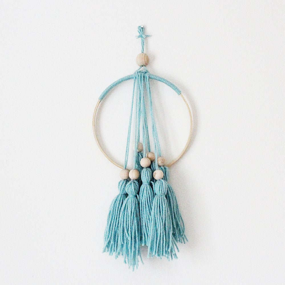 Image of Teal Dreamcatcher