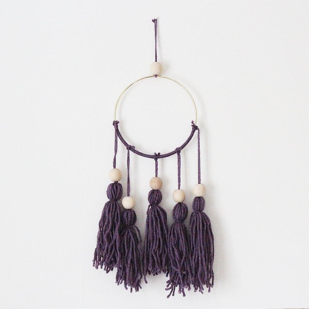 Image of Purple Dreamcatcher