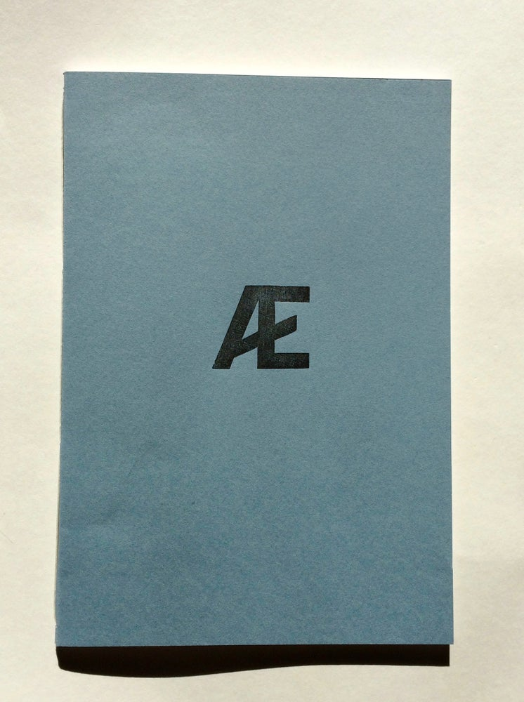 Image of blÆkk anthology 1st edition