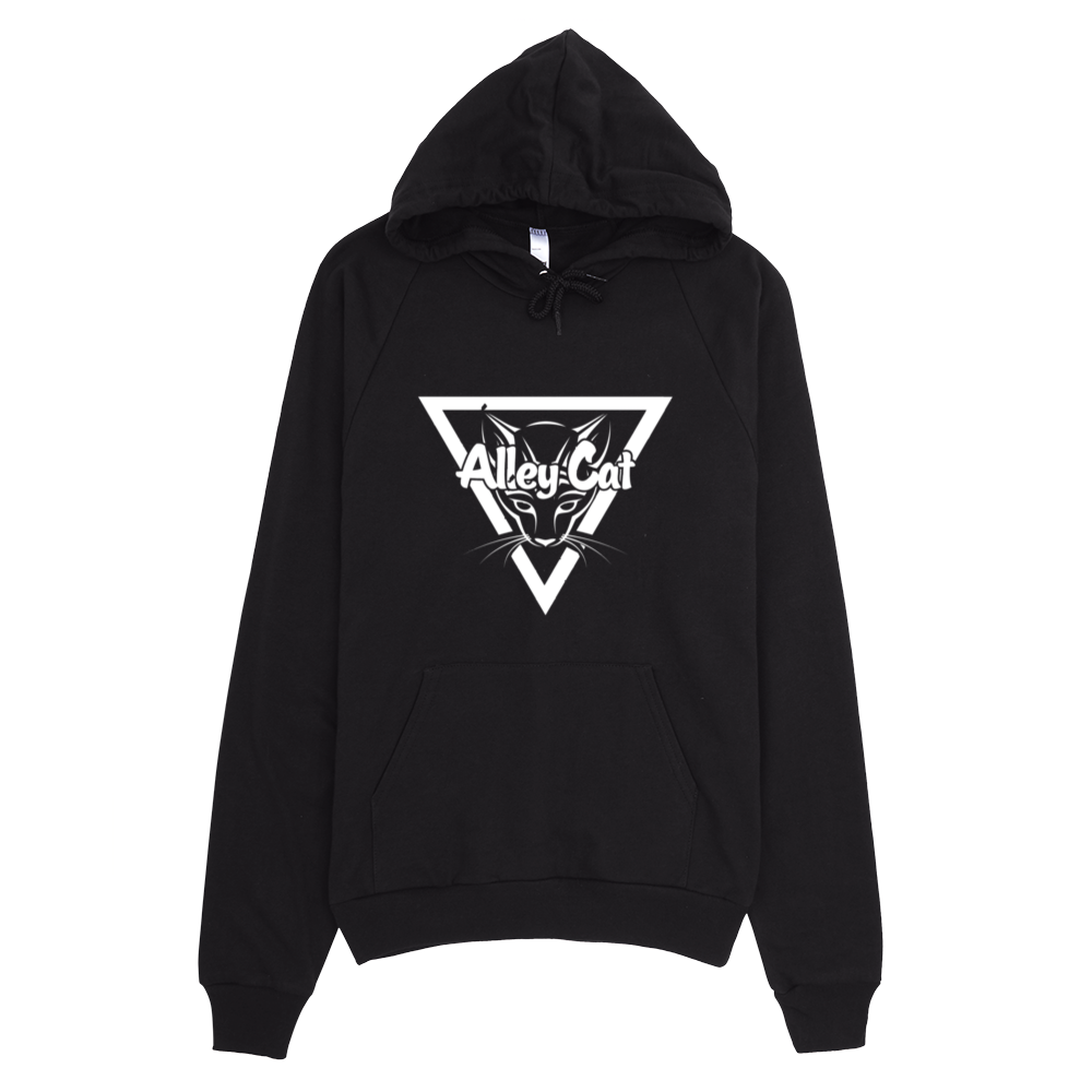 Image of Miss Alley Cat Logo Pullover Fleece Hoodie