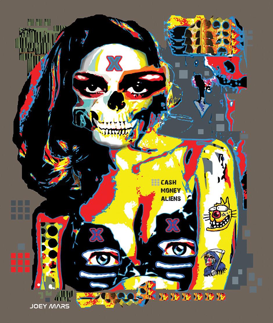 Image of Cash Money Aliens T-shirt (crew neck)
