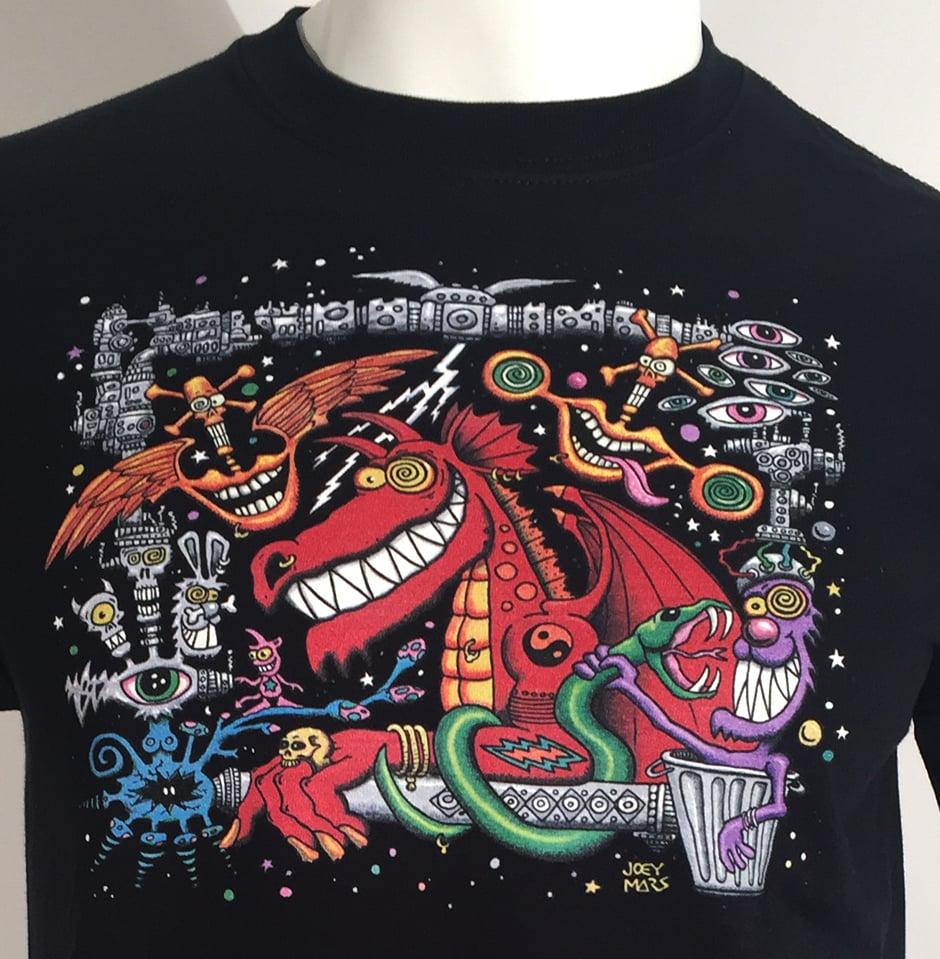 Image of Dragon Dream T-shirt (crew neck)