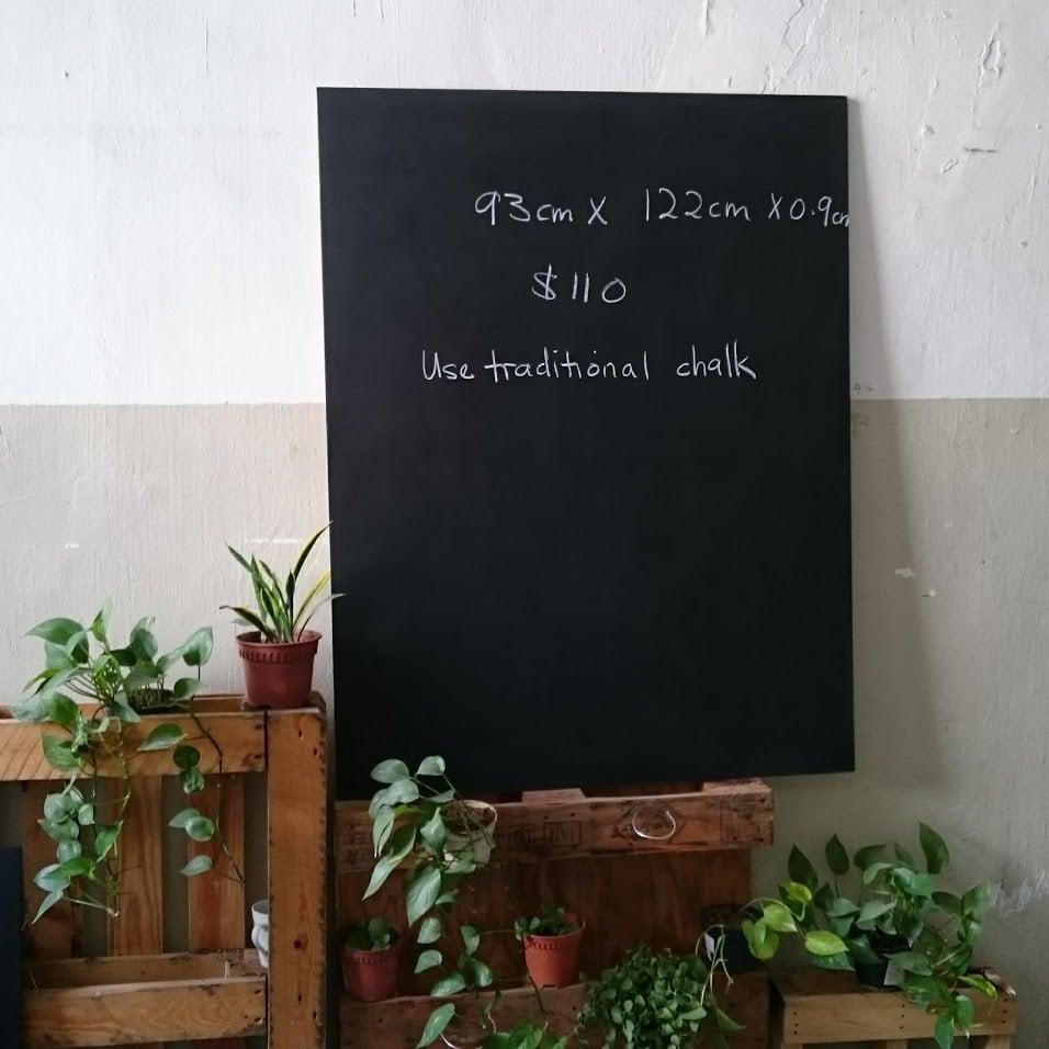 122cm X 93cm Frameless Chalkboard