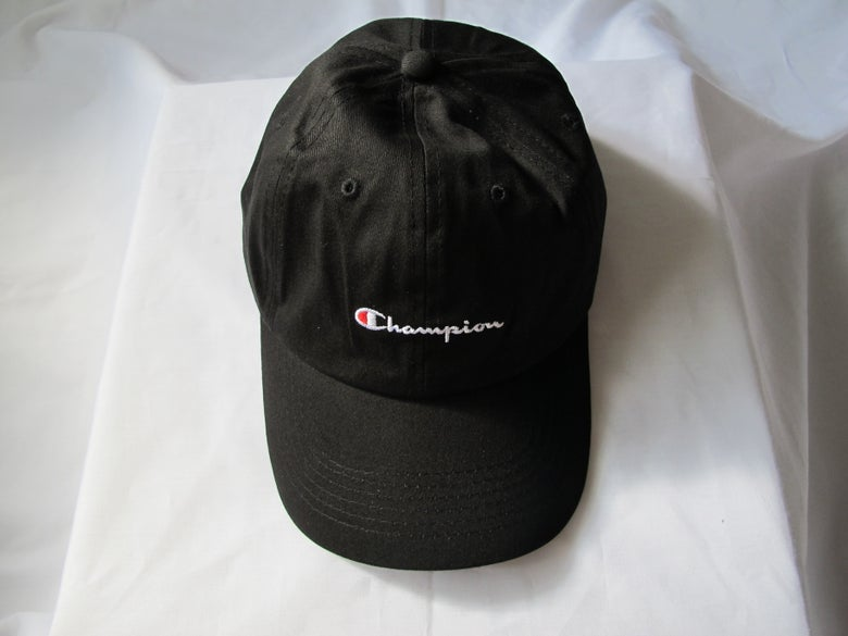 Image of Champion - Dad Hat (Black)
